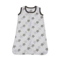 Bacati Stars Sleep Sack Size: Small, Color: Grey