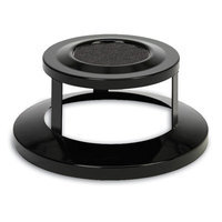 Anova Bonnet Top with Ashtray for 32 and 40 Gallon Receptacle Color: Black