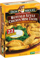 Don Miguel® Buffalo Style Chicken Mini Tacos 22 ct Box