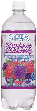 Stater Bros. Raspberry Blackberry Sparkling Water Beverage 1 L Plastic Bottle