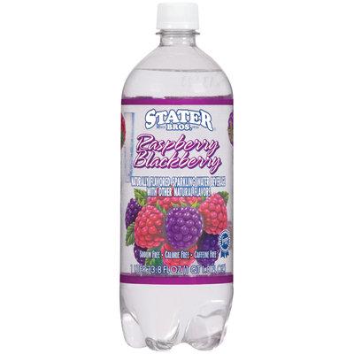 Stater Bros. Raspberry Blackberry Sparkling Water Beverage 1 L Plastic Bottle
