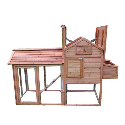 Newacme Llc Chicken Poultry Coop Rabbit Hutch Cage