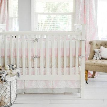 New Arrivals Cross My Heart 3 Piece Crib Bedding Set