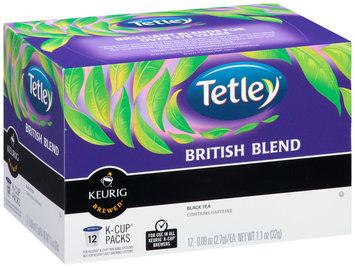 Tetley® British Blend Black Tea K-Cup® Packs 12 ct Box