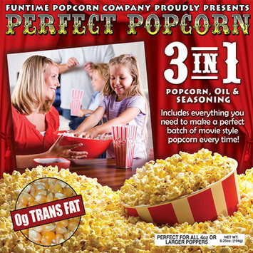 Funtime Popcorn Machines Perfect Popcorn 3-in-1 Popcorn Pouches Size: 4 Ounce