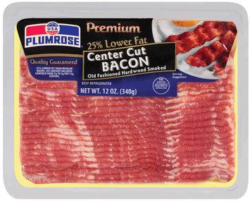 Plumrose Premium Center Cut Old Fashioned Hardwood Smoked Bacon