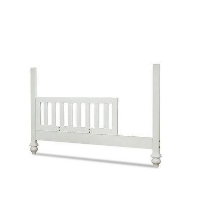 Smartstuff Furniture Black & White Toddler Rail Kit Finish: White