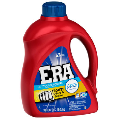 Era with Febreze Freshness Linen & Sky Scent Liquid Laundry Detergent 100 fl. oz. Bottle