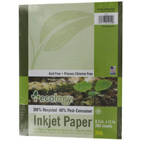 Pacon Creative Products Pacon 8-1/2 X 11 Ecology Recycled Inkjet Paper 200 Count