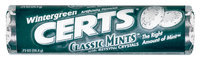 Certs Wintergreen Classic Mints