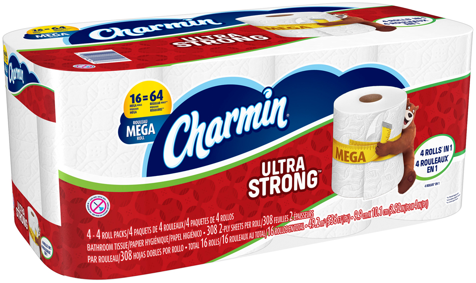 Charmin® Rolls Toilet Paper
