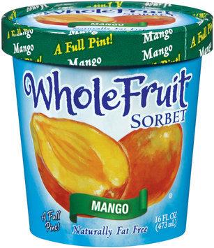 Whole Fruit® Mango Sorbet 16 oz. Tub