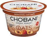 Chobani® Oats Peach Low-Fat Greek Yogurt
