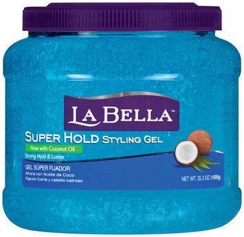 La Bella™ Super Hold Styling Gel 35.3 oz. Jar