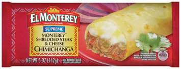 El Monterey® Monterey™ Shredded Steak & Cheese Chimichanga 5 oz