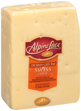 Alpine Lace® 25% Reduced Fat Swiss Cheese