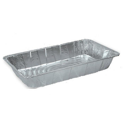 Pactiv Corporation Ribbed Full-Size Aluminum Steam Pan