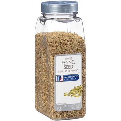 McCormick® Culinary™ Whole Fennel Seed 1.4 oz. Shaker