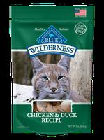 THE BLUE BUFFALO CO. BLUE™ Wilderness® Chicken & Duck Soft-Moist Cat Treats