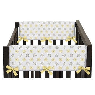 Sweet Jojo Designs Mod Garden Side Crib Rail Guard Cover