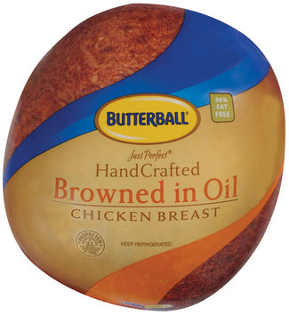 Butterball Just Perfect Hand Crafted Browned In Oil Chicken Breast   Bag