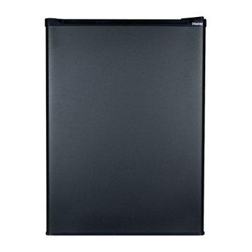 Haier 2.7 Cu. Ft. Compact Refrigerator/Freezer Color: Black