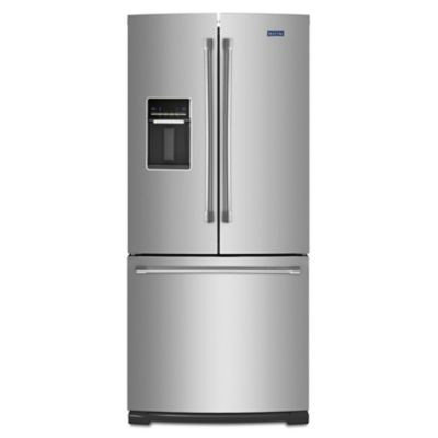 Maytag 19.6 Cu. Ft. French Door Refrigerator - Stainless Steel