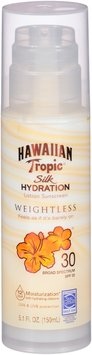 Hawaiian Tropic® Silk Hydration Weightless SPF 30 Sunscreen Lotion 5.1 fl. oz. Pump