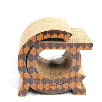 Purrrfect Life Holiday Theme Cat Scratcher