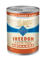 THE BLUE BUFFALO CO. BLUE™ Freedom® Grain-Free Grillers Hearty Turkey Dinner For Adult Dogs