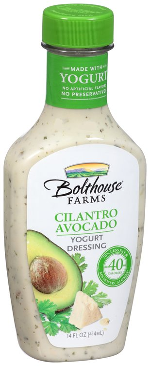 Bolthouse Farms® Cilantro Avocado Yogurt Dressing 14 fl. oz. Bottle