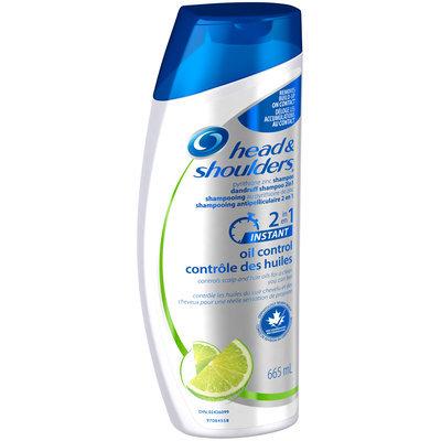 Oil Control Head & Shoulders Instant Oil Control 2-in-1 Dandruff Shampoo + Conditioner 665 mL