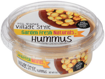 Garden Fresh Natural® Village Style Hummus 8 oz. Tub