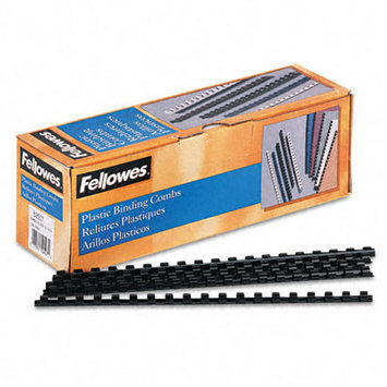 Fellowes Plastic Comb Bindings, 40 Sheet Capacity, 100/Pack