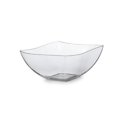 Fineline Settings, Inc Wavetrends 16 oz. Serving Bowl (Pack of 80) Color: Clear