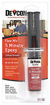 Devcon® Home Flow Mix® 5 Minute® Epoxy 0.47 fl. oz. Syringe