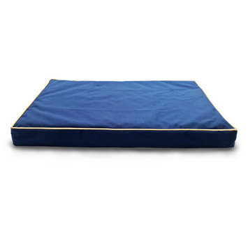 Furhaven Nap Indoor/Outdoor Deluxe Ortho Dog Bed Color: Blue