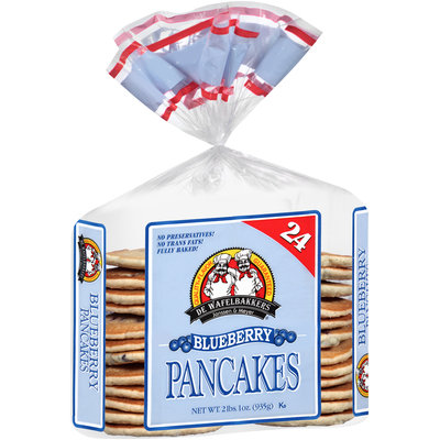 De Wafelbakkers Janssen & Meyer® Blueberry Pancakes 24 ct Bag