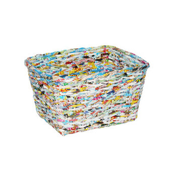 Screen Gems Recycle Single Tapered Square Wastebin