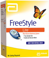 Freestyle Lite Blood Glucose Monitoring System System Kit Not For Retail Sale  1 Ct Box