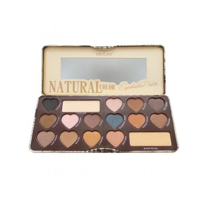 OKALAN® Natural Color Eyeshadow Palette A