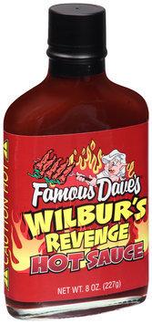 Famous Dave's® Wilbur's Revenge Hot Sauce 8 fl. oz. Glass Bottle
