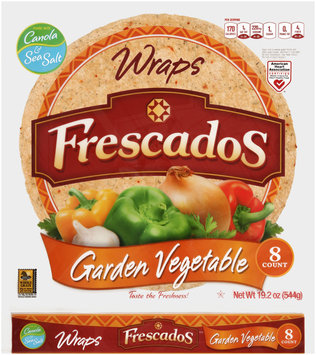 Frescados Garden Vegetable Wraps 8 ct. Bag