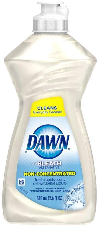 Dawn® Platinum Bleach Alternative Dishwashing Liquid Fresh Rapids™ 12.6 fl oz