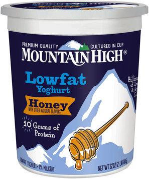 Mountain High® Honey Lowfat Yoghurt 32 oz. Tub
