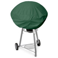 KoverRoos 63052 Weathermax Small Kettle Cover Forest Green - 27 Dia x 23 H in.