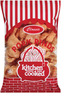 Kitchen Cooked Classic Pork Rinds 5 Oz Bag