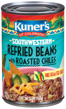 Kuner's Southwestern W/Roasted Chiles Refried Beans