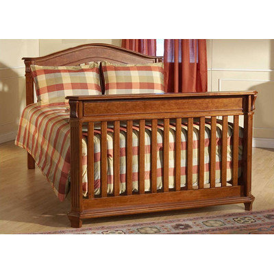 Pali Arezzo Universal Full Bed Conversion Rail Set Finish: Antique Sienna