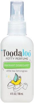 Toodaloo™ Fragrant Disregard™ White Tea Lemongrass Potty Perfume 4 fl. oz. Spray Bottle